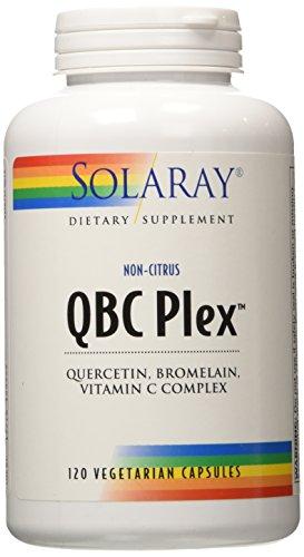 Solaray QBC Plex Capsules, 120 Count
