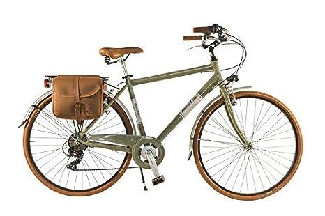 Canellini Via Veneto By Bicicletta Bici Citybike Ctb Uomo Vintage Retro Dolce Vita Alluminio Verde O 54