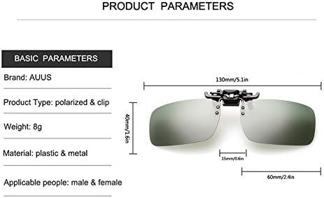 Amazon.com: Clip en anteojos de sol FLIP UP anteojos de sol ...