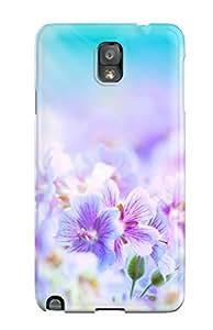 New Flower S Tpu Case Cover, Anti-scratch ZippyDoritEduard Phone Case For Galaxy Note 3