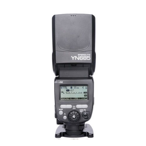 Price comparison product image YONGNUO YN685 YN-685 Wireless HSS TTL Speedlite Flash Build in Receiver Worked with YN622C YN560 YN560-TX RF605 RF603II