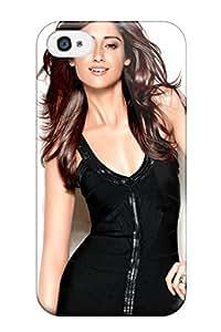 Best 7947583K74095085 Tpu Fashionable Design Actress Ileana Rugged Case Cover For Iphone 4/4s New Kimberly Kurzendoerfer