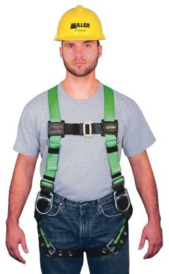 - Miller® by Honeywell Universal HP Non-Stretchable Full Body Style Harness With Back And Side D-Ring, Tool Belt Loop, Friction Shoulder Strap Buckle, Tongue Leg Strap Buckle, Mating Chest Strap Buckle, Sub-Pelvic Strap, Pull-Free Lanyard Ring And Belt Loop