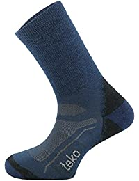 Men's Merino Wool SIN3RGI Blend Medium Cushion Crew Height Socks