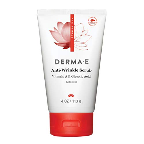 DERMA E Anti Wrinkle Scrub with Glycolic Acid, 4oz