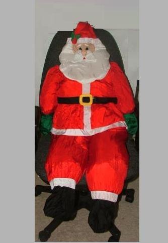 4 1/2 Ft. Stuffable Santa Claus CHRISTMAS YARD OUTDOOR DECORATION - Amazon.com : 4 1/2 Ft. Stuffable Santa Claus CHRISTMAS YARD OUTDOOR