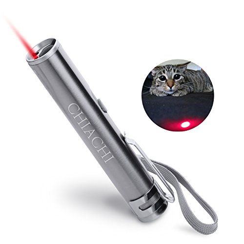 3 in 1 Cat Toys [2017 Upgrade Version] Rechargeable LED Pet Red Dot Toys/Flashlight/Black Light Interactive Pet Toys
