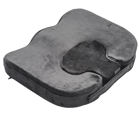 Hemorrhoid tailbone seat cushion with removable insert