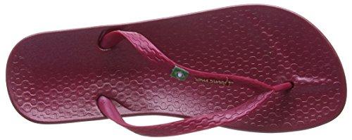 sandalias IpanemaBeach mujer Berry Red Rojo FB4XxB