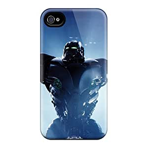 New Cute Funny Zeus In Real Steel Case Cover/ Iphone 5/5s Case Cover