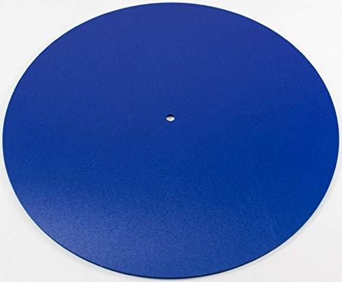 Rega Mat Blue Standard Wool Turntable Mat