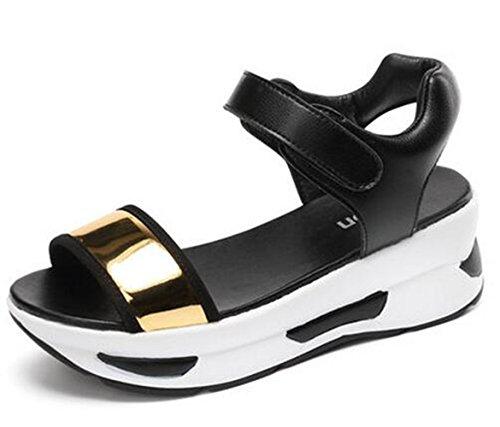 Youchan(ヨウチャン) レディース スポーツサンダル 春 夏 歩きやすい 軽量 サボサンダル 厚底 プラット