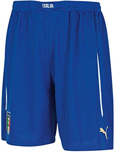 Puma Men's FIGC Italia Home and Away Replica Shorts, Team Power Blue/Home, 3X-Large