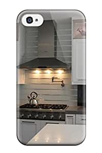 Top Quality Case Cover For Iphone 4/4s Case With Nice Kitchen Display Cabinets With Glass Inserts Appearance