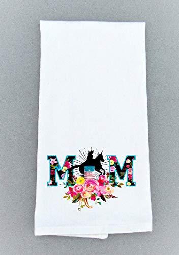 Southwestern Print Kitchen Dish Towel - Bath Hand Towel - Rodeo Print Tea Towel ()