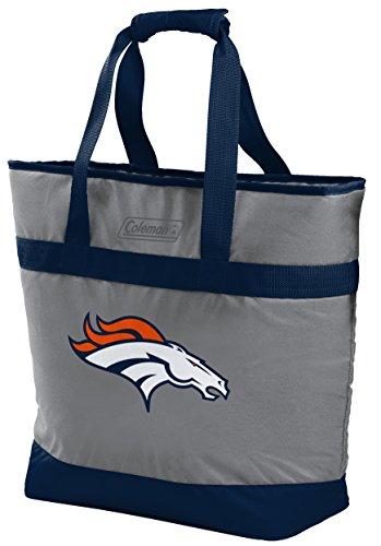 NFL Denver Broncos Unisex LP0757NFL 30 Can Tote Cooler, Blue, Adult