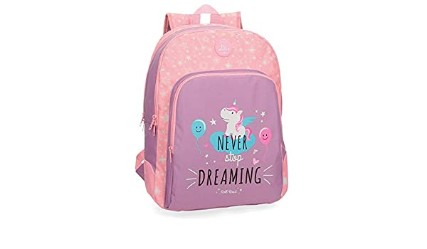 Roll Road Unicorn 4422662 Mochila Escolar, 44 cm, 19.6 litros, Rosa: Amazon.es: Equipaje