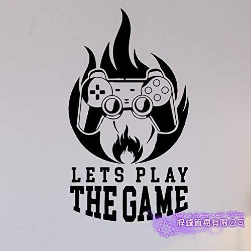 zxddzl Pegatina de Videojuegos Juegue Sala de Juegos Tatuajes ...
