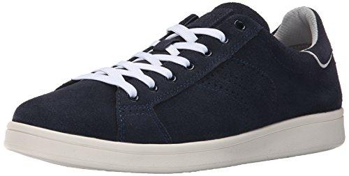 Geox Men's U Warrens Fashion Sneaker, Navy Suede, 39 M US ()
