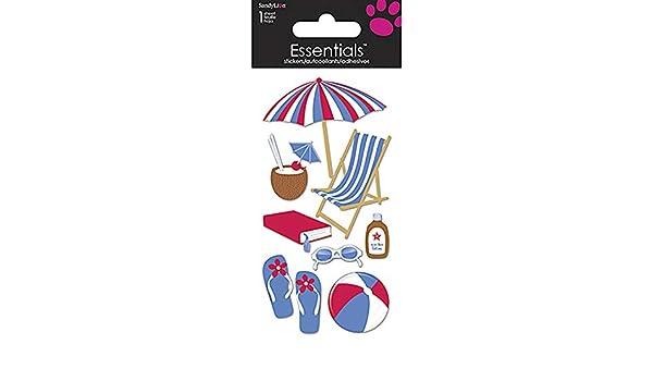 Sandylion BEACH Essentials Stickers NEW