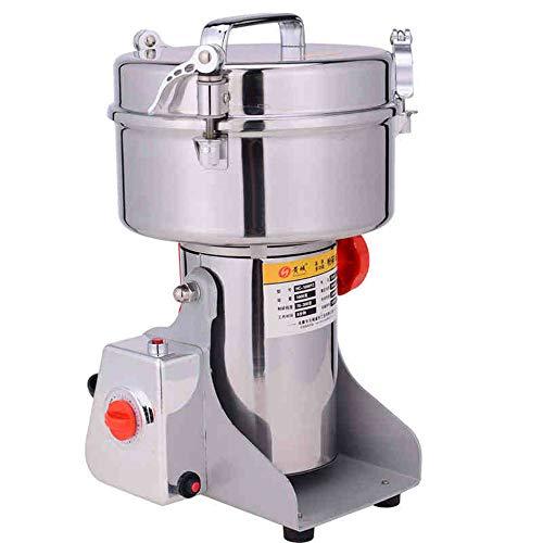 700g Electric Grain Mill Cereal Spice Grinder for Herb Pulverizer Superfine Powder Machine 110V
