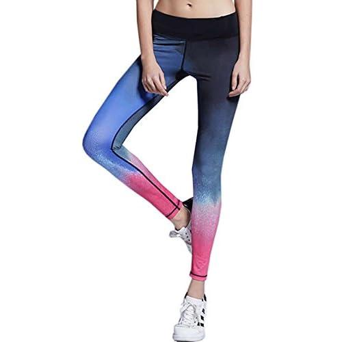 2fd70265dc204 50% de descuento Lorata Yoga Pantalones Legging Deportivo de Mujer para  Correr Deporte Gimnasio Entrenamiento