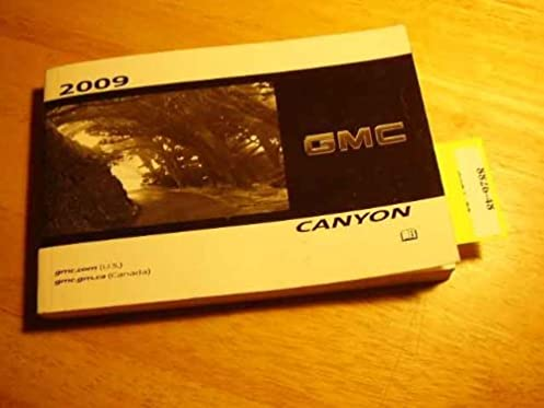 2009 gmc canyon owners manual gmc amazon com books rh amazon com gmc canyon owner's manual gmc canyon owners manual 2005