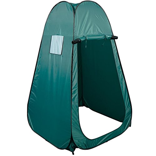 Super buy Portable Pop UP Fishing & Bathing Toilet Changing Tent Camping Room Green