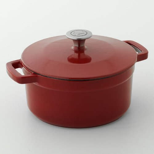 Food Network Enamel Cast Iron 3.5 Quart Dutch Oven