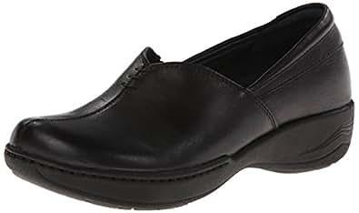 Dansko Women's Abigail Slip-On Loafer,Black Milled Full Grain,36 EU/5.5-6 M US