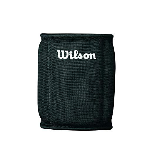 Wilson Pads Knee - Wilson Reversible Premium Knee Pad, Black/White - Adult