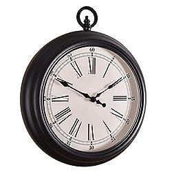 TWTD-TYK Wall Clock, Living Room Wall Clock, Nordic Creative Quartz Clock, European Retro Wall Watch American Pocket Watch