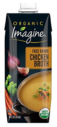 (Imagine Organic Free Range Chicken Broth, 16 Fl Oz, Pack of)