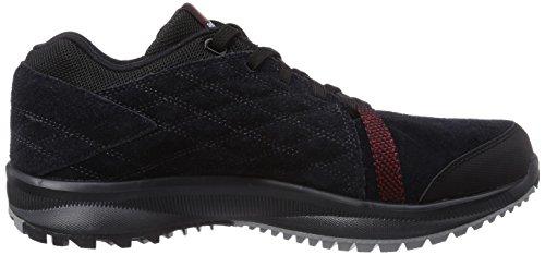 Reebok Dmx All Road - Zapatos Hombre negro - Schwarz (Black/Gravel/Flat Grey/Red Rush)