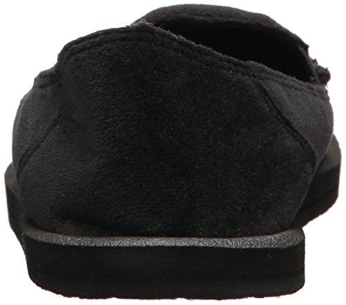 Donna Velvet Slip Black Women's Loafer On Sanuk Fxw45zWqUq