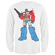 Transformers - Optimus Prime Long Sleeve T-Shirt