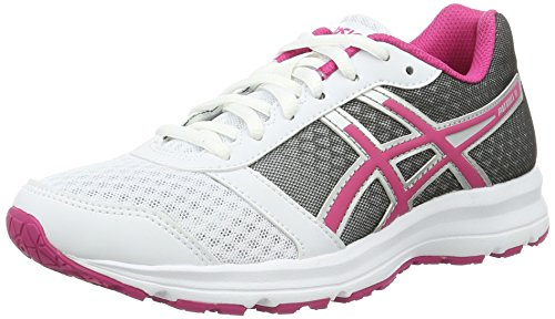 Zapatillas silver Running Patriot 8 Asics De white W Multicolor Pink Mujer sport Stx6qw74q