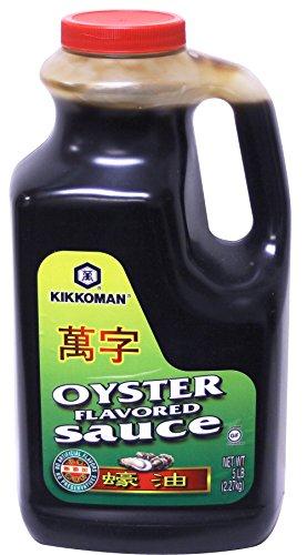 Kikkoman Oyster Flavored Sauce, No Added MSG, Green Label, 5 Pound