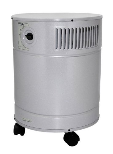 AllerAir A5AS21236111 5000 DX Vocarb UV HEPA and Carbon Air Cleaner with 27 lb Vocarb Deep Bed Carbon Filter and UV Sterilization