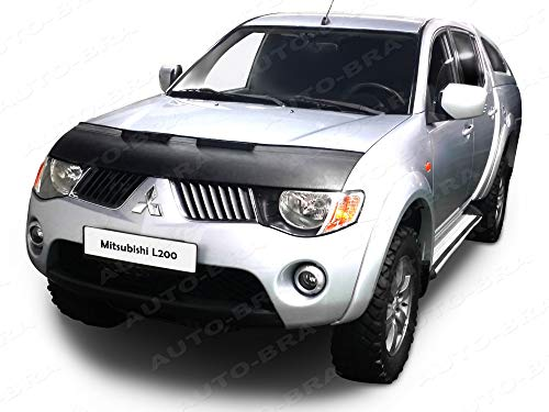 Hood Bra for Mitsubishi L200, Triton, Strada, Sportero, Hunter, 2005-2015 Challenger, Pajero Sport, Nativa, Pajero Dakar, Montero Sport Since 2008 Bonnet Bra