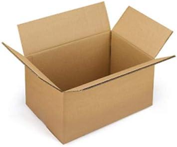 25 cajas de cartón de 40 x 30 x 30 cm – Embalaje de cartón de una sola onda para envíos/almacén y mudanzas. Caja neutra: Amazon.es: Bricolaje y herramientas