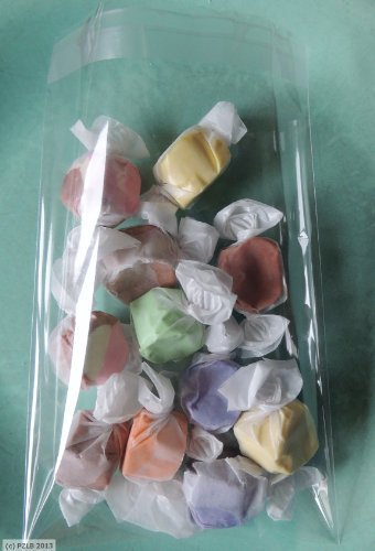 100 Clear Lip and Tape Self Sealing Cello Bags 6