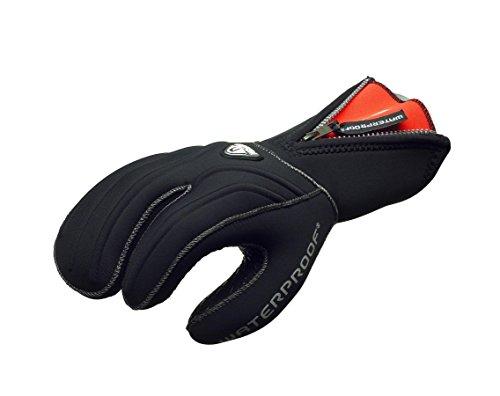 Waterproof G1 7mm 3-Finger Semi-Dry Gloves, Medium