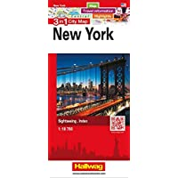 New York 3 in 1 City Map: Map, Travel information, Highlights, Sightseeing, Index (City Map 3 in 1)