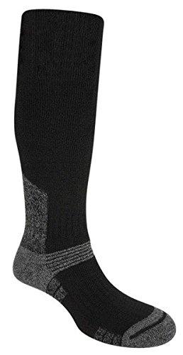 Bridgedale Men's Summit Knee Socks, X-Large, Black