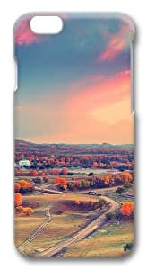 Autumn clouds sunset trees Polycarbonate Hard Case Cover for iphone 6 plus 5.5 inch 3D