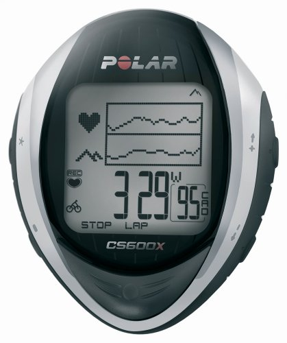 Polar CS600X GPS Heart Rate Monitor, Black