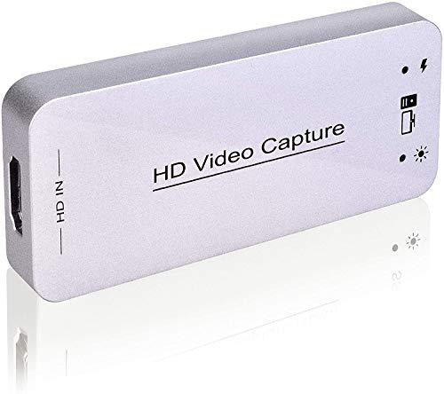 ضبط USB کارت تصویری HDMI ، پخش مستقیم جریان و ضبط ، HDMI به USB Dongle Full HD 1080P Live Streaming Video Game Grabber Converter