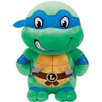 Amazon.com: TY Beanie Babie Leonardo Mutant Ninja Turtle 13 ...
