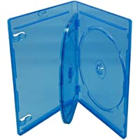 Mediaxpo Brand 100 PREMIUM STANDARD Blu-Ray Triple 3 Disc DVD Cases 12MM